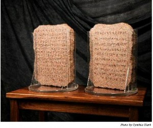 Two Stone Tablets of the Commandments
