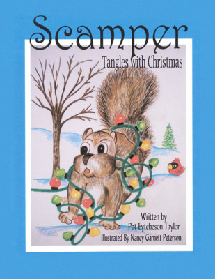 Scamper Tangles with Christmas