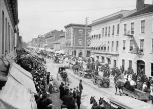 Labour Day Parade on Front Street