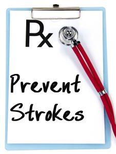 prevent strokes text write on prescription